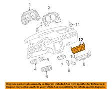Chevrolet GM OEM-Climate Control Unit Temperature Fan Heater A/C 20787115