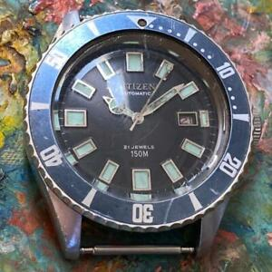 CITIZEN CHALLENGE OR-O 62-6198 150 M DIVER 6000 VINTAGE GENUINE WATCH LOLLIPOP