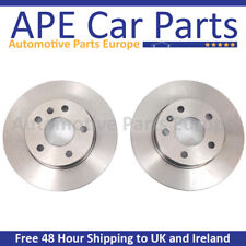 Vauxhall Corsa D 1.6 Turbo VXR SRi 2007-2015 Rear Plain Brake Discs 264mm