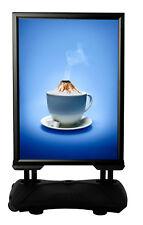 Kundenstopper Werbeaufsteller WindPro A1 SCHWARZ Plakataufsteller