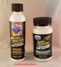 Lucas Oil Gun Metal Polish 10878 & Extreme Duty Bore Solvent Cleaner 10907 4oz