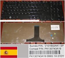 Teclado Qwerty Español TOSHIBA Qosmio G50 F50 NSK-TB80S V101602AK1 9J.N9282.80S