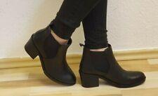 Damen -Stiefel, Stiefeletten, Boots, echtes Leder, EU 39, Schwarz, Neu/New