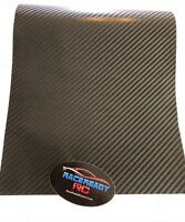 """RC Truck Chassis Skin Protector XL 13"""" x 20"""" ...4D Carbon Fiber.. High Gloss"""