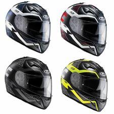 HJC TR1 Tholos Full Face Motorcycle Helmet Graphic Pinlock Prepared Bike Lid New
