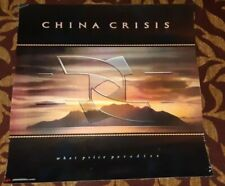 CHINA CRISIS ORIGINAL VIRGIN RECORDS PROMO POSTER FOR WHAT PRICE PARADISE