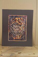 Peter Reichle - Acryl Malerei - Gemälde - Dornen Kranz - signiert - 42 x 30 cm.