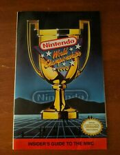 1990 Nintendo World Championship Powerfest Insider Guide Program NES era (RARE)