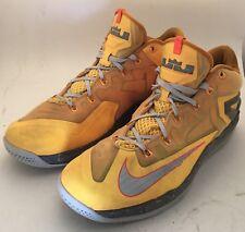 Men's Nike MAX LEBRON XI LOW 642849-800 Basketball Shoes Sz 13  FREE SHIPPING