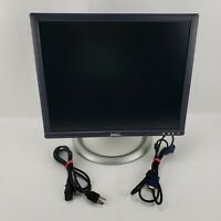 "Dell Ultrasharp 1905fp 19"" LED LCD Computer Monitor DVI-VGA With Cord"