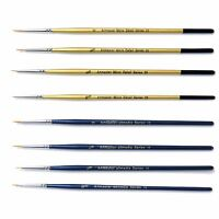 Artmaster Fine Detail Paint Brush Set of 8 Art, Hobby, Modelmakers, Warhammer