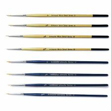 Artmaster Fine Detail Paint Brush Set of 8 Art Hobby Modelmakers Warhammer