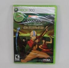 Avatar The Last Airbender Burning Earth Microsoft Xbox 360 Game Brand New Sealed