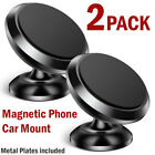 2-PACK Car Magnetic Phone Mount Phone Car Holder Dash Stand Universal Cell Phone