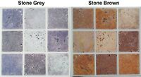 Sticker Transfer Mosaic Tile Stone Effect Self Adhesive Pack of 30 Kitchen Decal