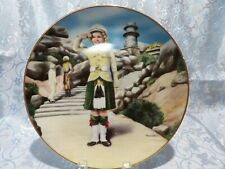 """J - Shirley Temple """"Wee Willie Winkie"""" Collectors Plate"""