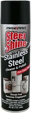 Stainless Steel Cleaner & Polish 17oz Max Pro polish and protect