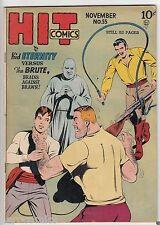 Golden Age HIT COMICS #55 Quality Comics KID ETERNITY 8.5 VF+