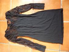 KATE MOSS BLACK LACE BODY CON FLAME DRESS  6 TOPSHOP