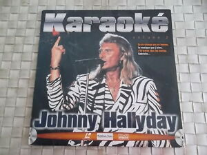 JOHNNY HALLYDAY LASER DISC KARAOKE VOLUME 2