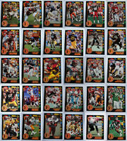1991 Wild Card Collegiate NCAA Football Cards Complete Your Set Pick From List