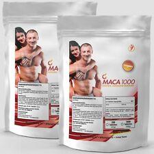2x 500 Tabletten MACA-1000 á 500mg / Muskelaufbau - Natural Hormone Booster -