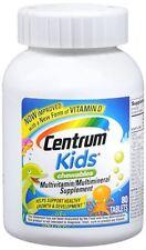 Centrum Kids Chewable Tablets 80 Tablets