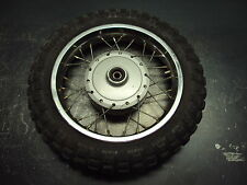 00 2000 HONDA XR50R XR 50 R MOTORCYCLE WHEEL TIRE RIM SPOKES RUBBER 2.50-10