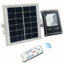 10W Solar Panel Powered LED Spot Light Outdoor Yard Lawn Lamp Waterproof 2019