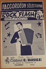 Partition ancienne-ROCK FLASH Musique de: E.BASILE