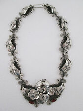 SILVER NECKLACE women's fashion jewelry 925 sterling silver mexican taxco