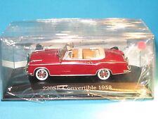Voiture Mercedes Benz 220SE convertible 1958 IXO 1/43