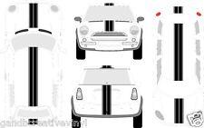 Mini Cooper Countryman Clubman Coupe Dual Rally Racing Stripes 18