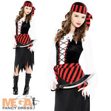 Buccaneer Beauty Girls Fancy Dress Caribbean Shipmate Pirate Childrens Costume