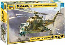 Zvezda 4823 Soviet Attack Helicopter MIL-Mi 24 V/VP 1/48