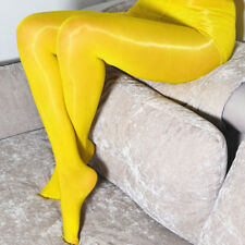 Plus Size Super Shiny Glossy Sheer Stockings Tights Pantyhose Crotch/Crotchless