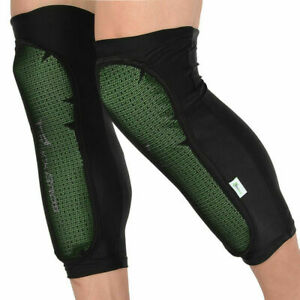 ROCKBROS Cycling Shin Pad Calf Guard Protector Knee Pad Cover Leg Warmers Green