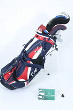 TAYLORMADE GOLF PACKAGE SET / STIFF / WOODS IRONS PUTTER BAG / TAPTAY044