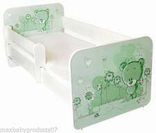 Camas de color principal verde para niños