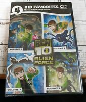 4 KID FAVORITES: THE BEN 10 ALIEN FORCE COLLECTION NEW DVD