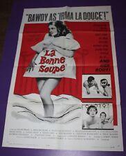 LA BONNE SOUPE /ORIG. U.S. ONE SHEET MOVIE  POSTER (ANNIE GIRARDOT)