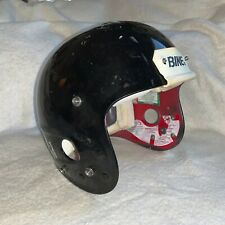 GAME USED / WORN VINTAGE BIKE PRO EDITION FOOTBALL HELMET - MEDIUM - Black!!!