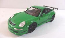 Porsche 911 Gt3 Rs Verde 1/36 Metallo / - Cast Nuovo Scatola Originale