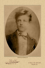 ARTHUR RIMBAUD French Poet, Writer & Tormented Visionary Photo Cabinet Card