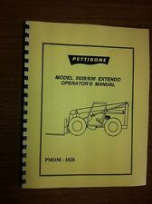 Pettibone Forklift 5528 636 Operators Manual