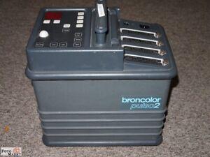 Broncolor Pulso 2 Générateur Studio Blitzgenerator Bron Suisse