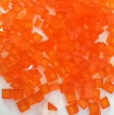 Lego Lot Of 150 1x1 Trans Orange Slopes New