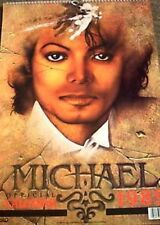 MICHAEL JACKSON 1989 CALENDAR OFFICIALLY LICENCED, never used