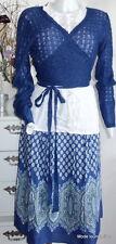 NOA NOA Rock Skirt Westlake Viskose S 36 Viscose honor blau Blumen flower blue