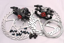 EXPRESS DELIVERY TO AUS AVID BB7 DISC BRAKE KIT 160MM G2 ROTOR 2 JAGWIRE CABLES